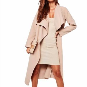 NWOT✨ Missguided Oversized Waterfall Duster Coat